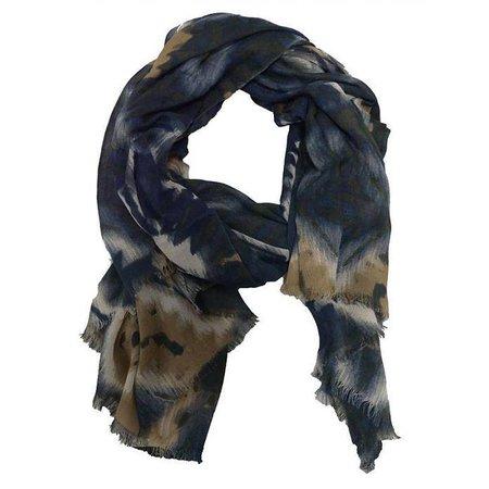 Sjaal donker blauw