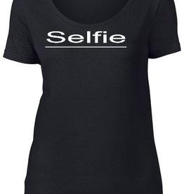 MWF It-Shirt zwart Selfie