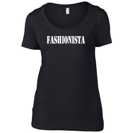 MWF It-Shirt zwart fashionista