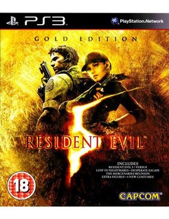 RESIDENT EVIL 5 GOLD EDITION for Playstation 3 PS3
