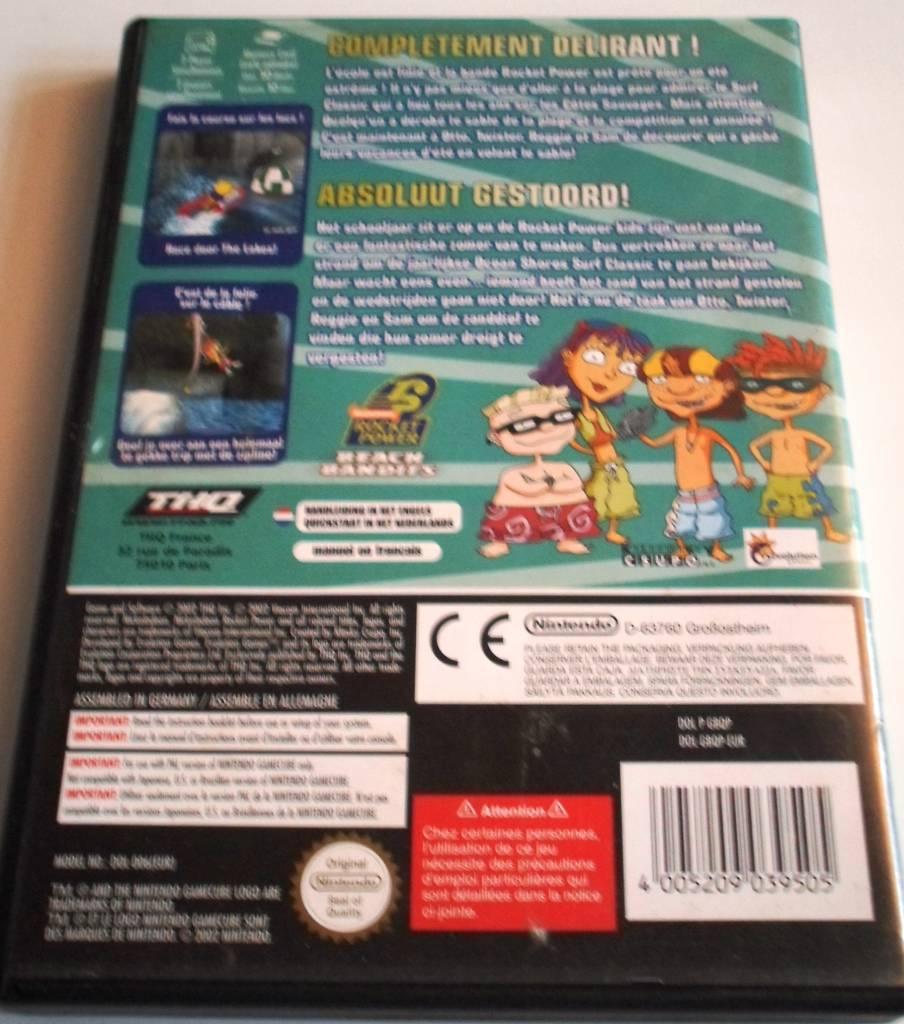 rocket power beach bandits for nintendo gamecube with box manual rh gamewebshop eu gamecube manual pdf gamecube game manuals