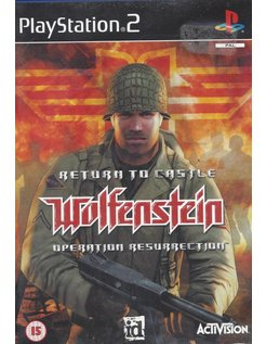 RETURN TO CASTLE WOLFENSTEIN - OPERATION RESURRECTION für PlayStation 2 PS2