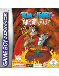 TOM AND JERRY IN INFURNAL ESXAPE for Game Boy Advance