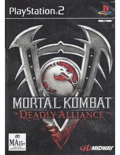 MORTAL KOMBAT DEADLY ALLIANCE voor Playstation 2