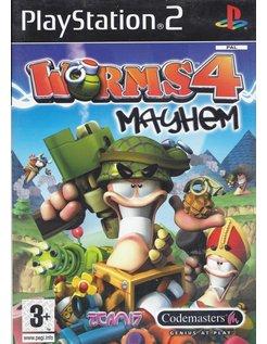 WORMS 4 MAYHEM für Playstation 2