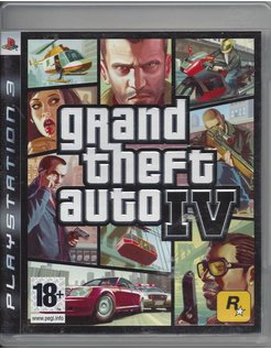 GRAND THEFT AUTO IV GTA (4) for Playstation 3