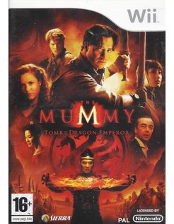 MUMMY TOMB OF THE DRAGON EMPEROR for Nintendo Wii