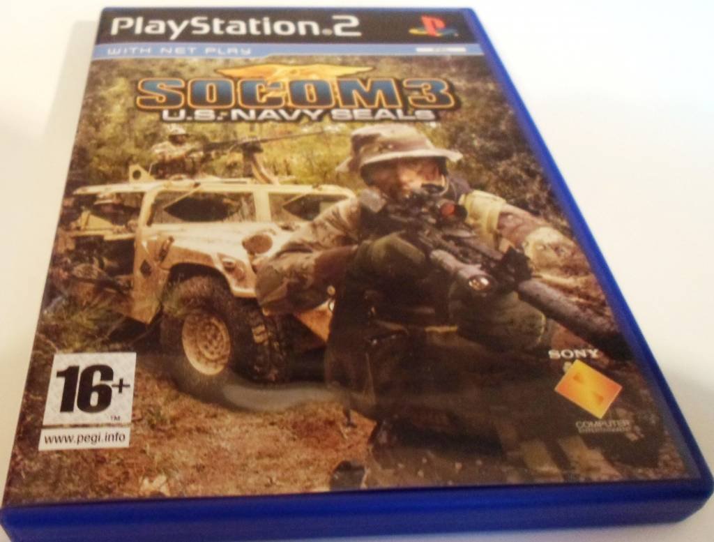 socom 3 us navy seals for playstation 2 ps2 with box Socom Confrontation Cover Socom 4 Online