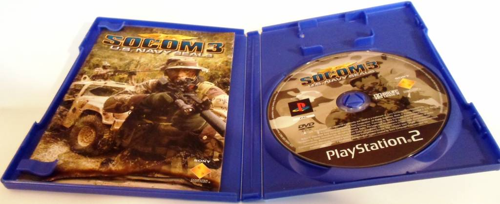 socom 3 us navy seals for playstation 2 ps2 with box Socom Game Socom Confrontation Cover