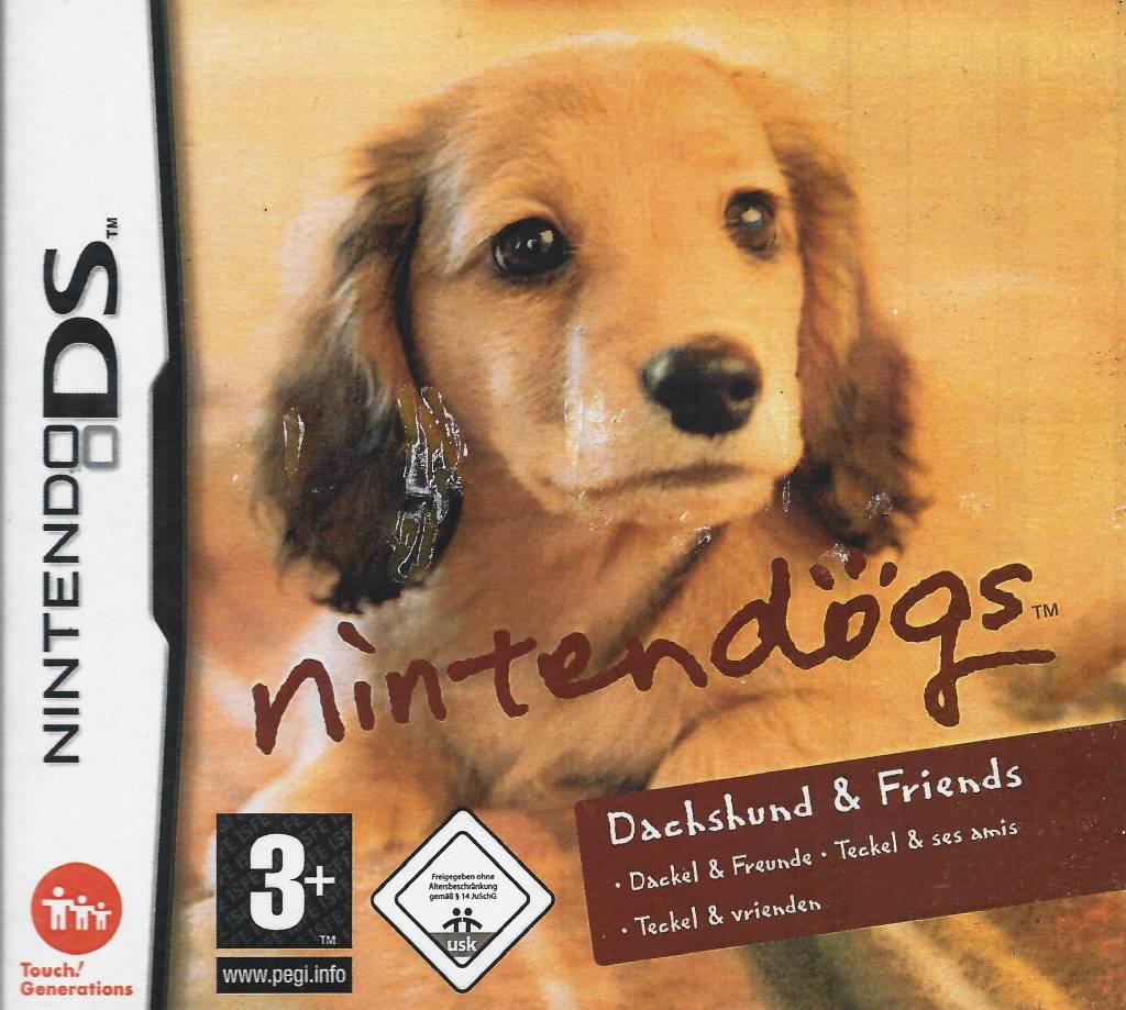 nintendogs dachshund amp friends for nintendo ds passion
