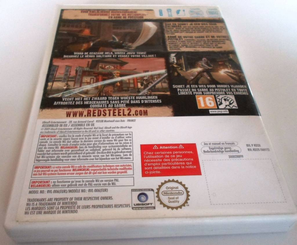 Nintendo wii owners manual nintendo wii games array red steel 2 for nintendo wii with box u0026 manual passion for games rh fandeluxe Image collections