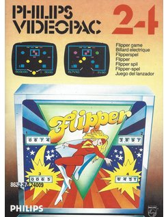 PHILIPS VIDEOPAC G7000 GAME 24 - FLIPPER GAME