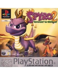 SPYRO 2 GATEWAY TO GLIMMER for Playstation 1