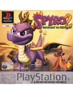 SPYRO 2 GATEWAY TO GLIMMER voor Playstation 1