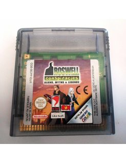 ROSWELL CONSPIRACIES - ALIENS MYTHS & LEGENDS voor Nintendo Game Boy Color