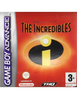 THE INCREDIBLES for Game Boy Advance GBA