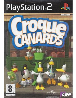 SITTING DUCKS - CROQUE CANARDS for Playstation 2
