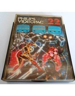 PHILIPS VIDEOPAC G7000 GAME 22 - SPACE MONSTER