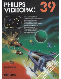 PHILIPS VIDEOPAC G7000 GAME 39 - FREEDOM FIGHTERS