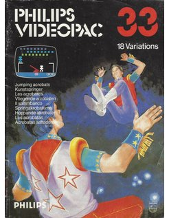PHILIPS VIDEOPAC G7000 GAME 33 - JUMPING ACROBATS