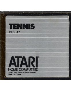 TENNIS game cartridge for Atari XE/XL