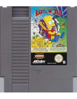 THE SIMPSONS - BART VS THE WORLD for Nintendo NES