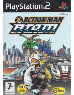 ACTION MAN ATOM Alpha Teens On Machines for Playstation 2