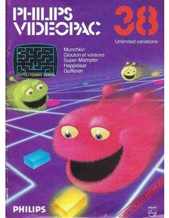 PHILIPS VIDEOPAC G7000 GAME 38 - MUNCHKIN