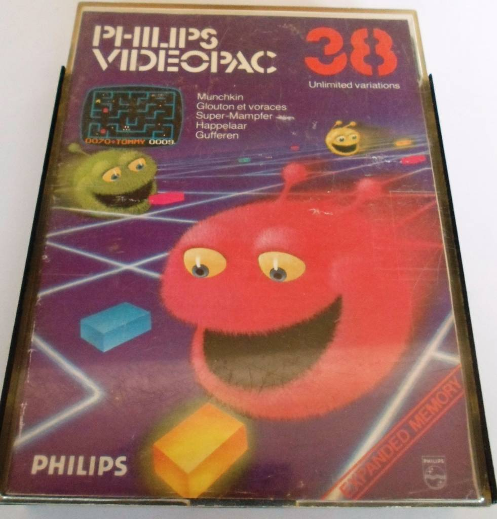 PHILIPS VIDEOPAC G7000 GAME 38 - MUNCHKIN - Passion For Games