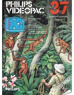 PHILIPS VIDEOPAC G7000 GAME 37 - MONKEYSHINES