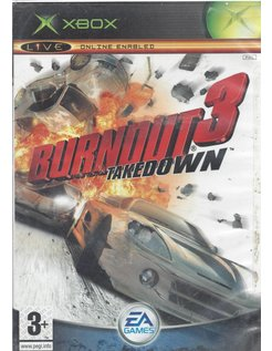 BURNOUT 3 TAKEDOWN voor Xbox