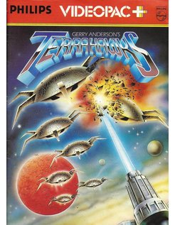 PHILIPS VIDEOPAC G7000 GAME 51 - TERRAHAWKS