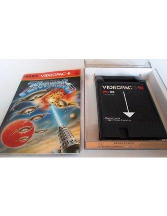 PHILIPS VIDEOPAC G7000 GAME 51 - TERRAHAWKS