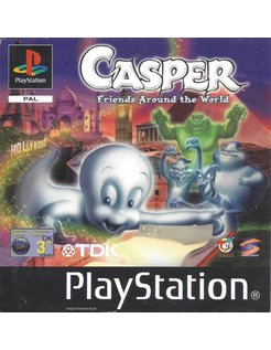 CASPER - FRIENDS AROUND THE WORLD for Playstation 1