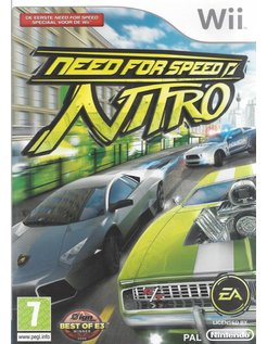 NEED FOR SPEED NITRO for Nintendo Wii