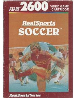 REALSPORTS SOCCER für Atari 2600 - mit Box