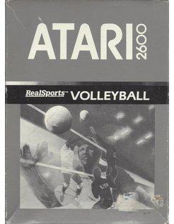 REALSPORTS VOLLEYBALL für Atari 2600 - mit Box und Anleitung