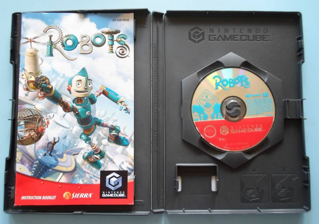 Robots Nintendo Gamecube Passion For Games
