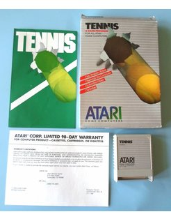 TENNIS für Atari 400/800 / XE / XL Heimcomputer