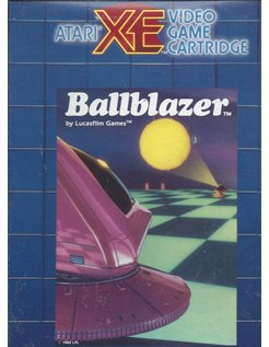 BALLBLAZER for Atari 400 / 800 / XE / XL home computers -