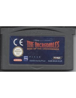 THE INCREDIBLES RISE OF THE UNDERMINER for Game Boy Advance