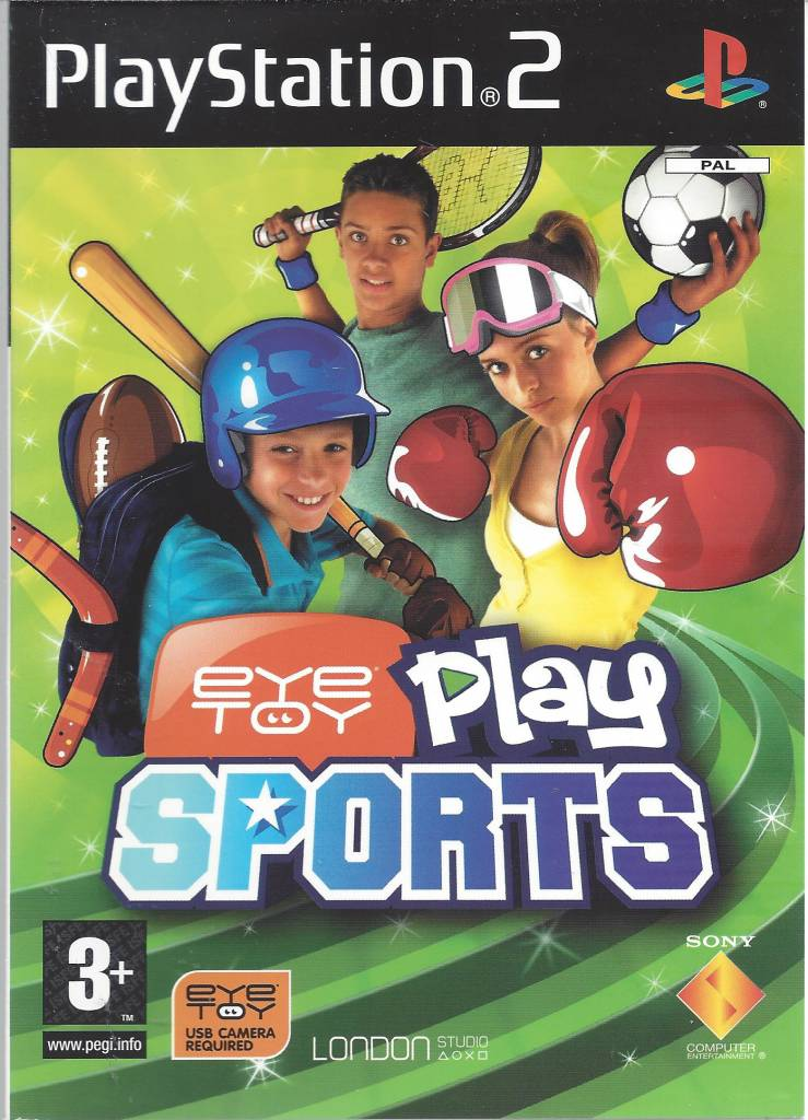 eyetoy play sports playstation 2 ps2 passion for games Starting to Play the Wii Play Wii Sports