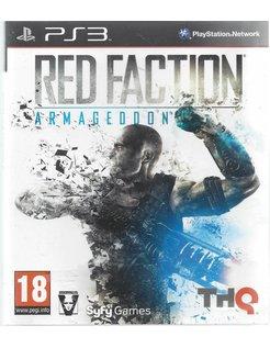 RED FACTION ARMAGEDDON for Playstation 3