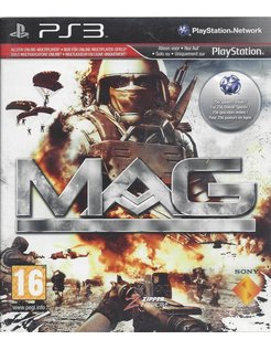 MAG - MASSIVE ACTION GAME voor Playstation 3 PS3