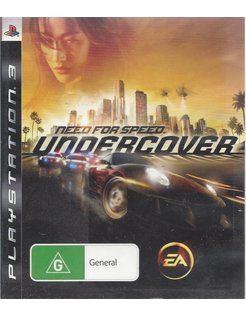 NEED FOR SPEED UNDERCOVER for Playstation 3