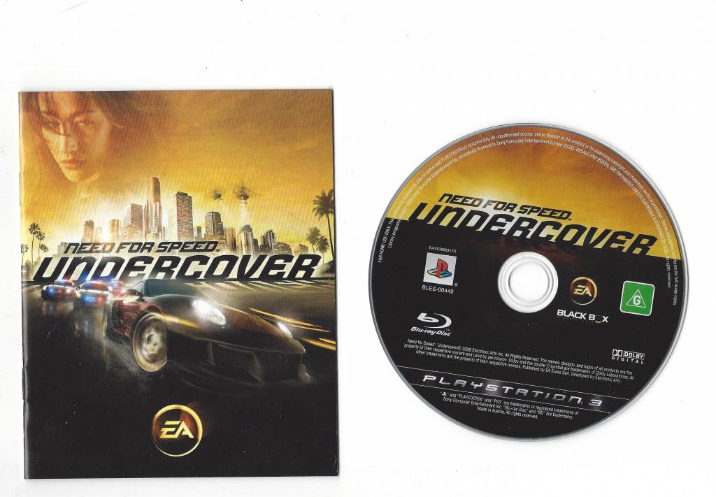 need for speed undercover playstation 3 ps3 passion. Black Bedroom Furniture Sets. Home Design Ideas