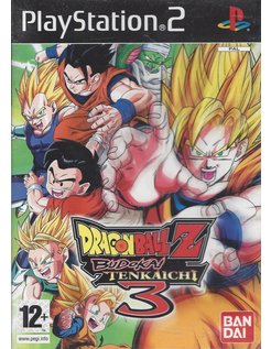 DRAGON BALL Z BUDOKAI TENKAICHI 3 for Playstation 2 PS2
