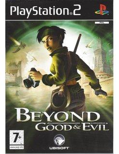 BEYOND GOOD AND EVIL voor Playstation 2 PS2 - Nedertandstalige handleiding