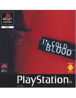 IN COLD BLOOD for Playstation 1