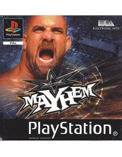 WCW MAYHEM for Playstation 1